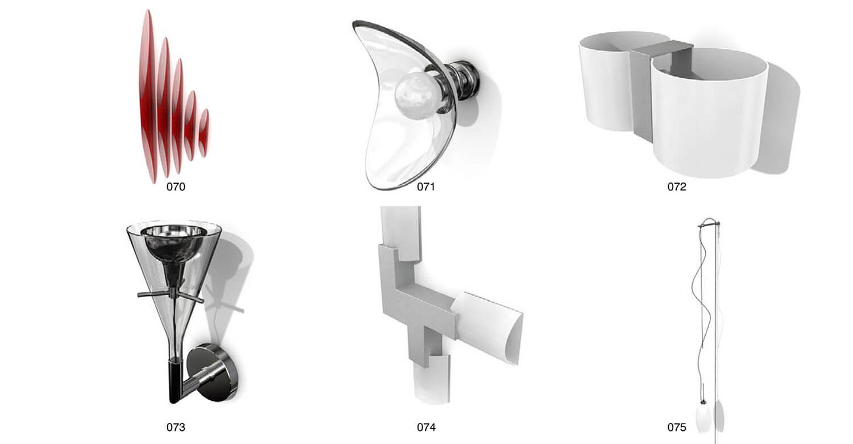 Các mẫu đèn ốp có đường nét mang phong cách nghệ thuật