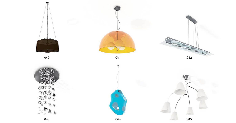 Các loại đèn thả chất liệu đơn giản nhưng mang đường nét nghệ thuật