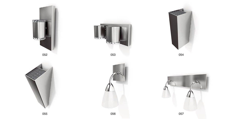 Các mẫu đèn ốp tường hiện đại