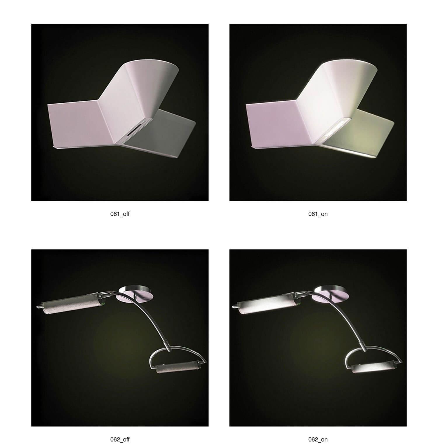 Các đèn rọi tranh, rọi gương độc đáo