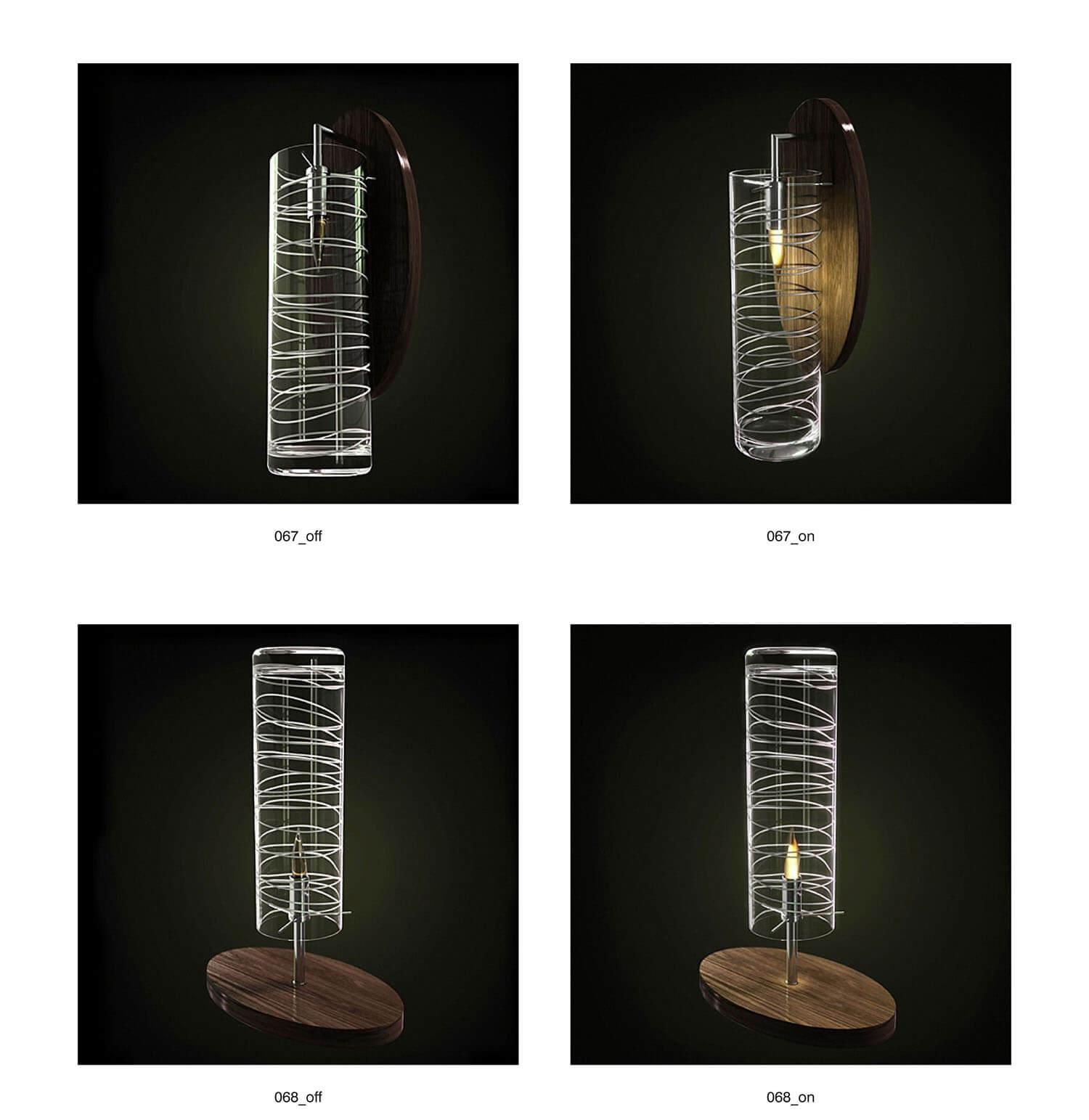 Và đèn ốp, đèn bàn phù hợp với nhau