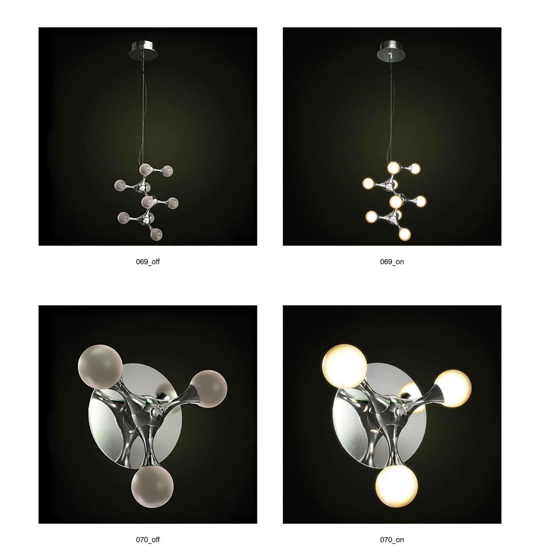 Kiểu đèn thả và đèn ốp dạng bong bóng, mới lạ và độc đáo