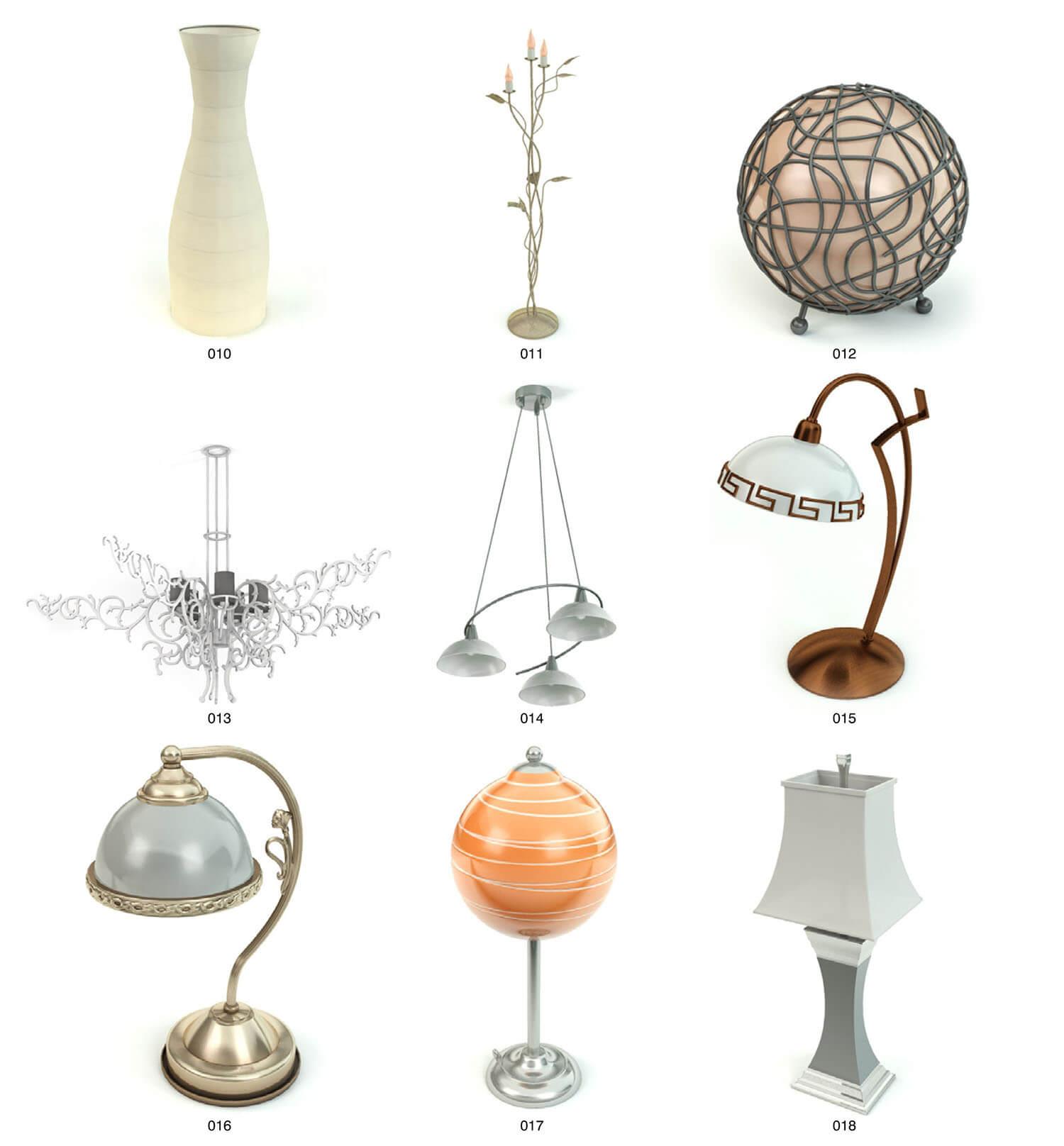 Chọn lựa một mẫu đèn đẹp nhất trong bộ sưu tập này quả thực là rất khó