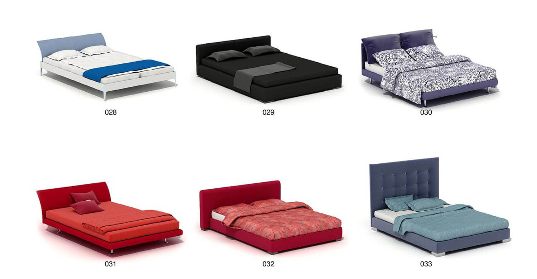 Giường nỉ hiện đại