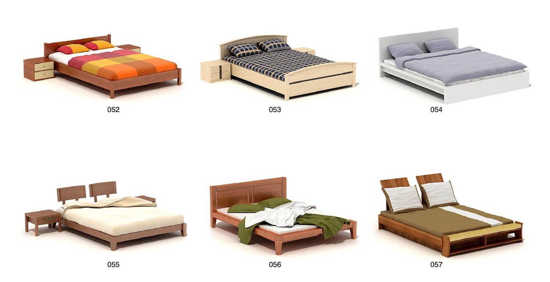 Các bộ giường hiện đại, song vẫn mang 1 số chi tiết phá cách