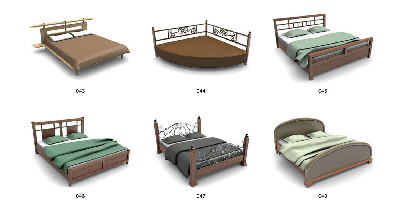 Một số mẫu giường khung sắt uốn nghệ thuật