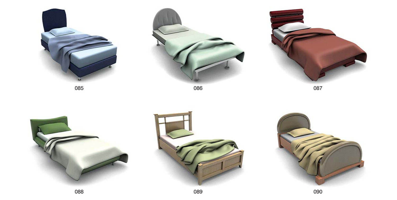 Màu sắc của giường, của ga trải giường ảnh hưởng đến nội thất phòng ngủ