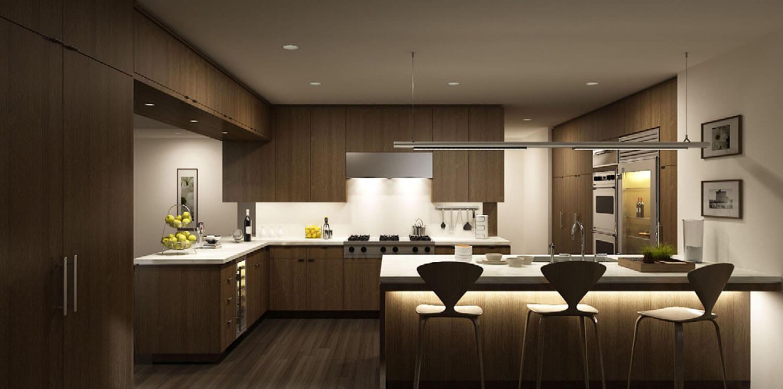 Chuyên nghiệp cho bếp với bộ tủ bếp