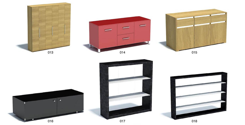 Một số mẫu kệ tủ, giá đồ, bàn phấn tiện dụng cho nội thất phòng ngủ